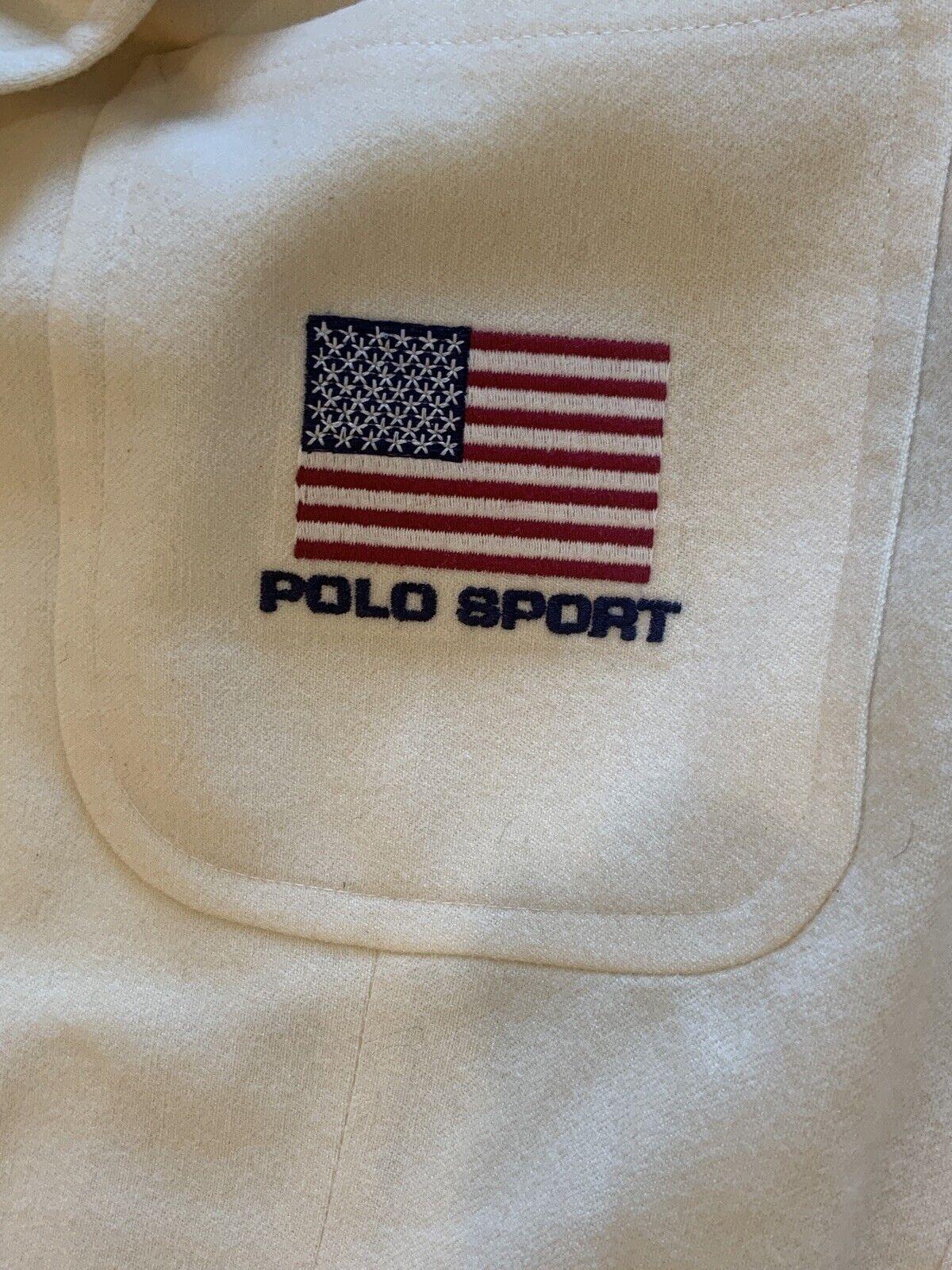 Vintage Polo Sport Sport Jacket - image 7
