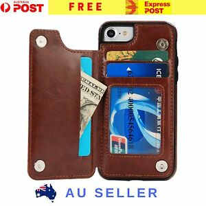 Luxury-Magnetic-Leather-Bifold-Wallet-Card-Case-Cover-For-iPhone-7-7-Plus-6s-New