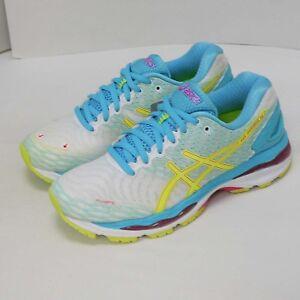 Asics Gel Nimbus 18 Womens Running Trainers T650N Sneakers