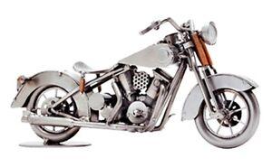 Hinz-amp-Kunst-Original-Springer-Classic-Bike-Motorrad-Standmodell-Metall-Design-NEU