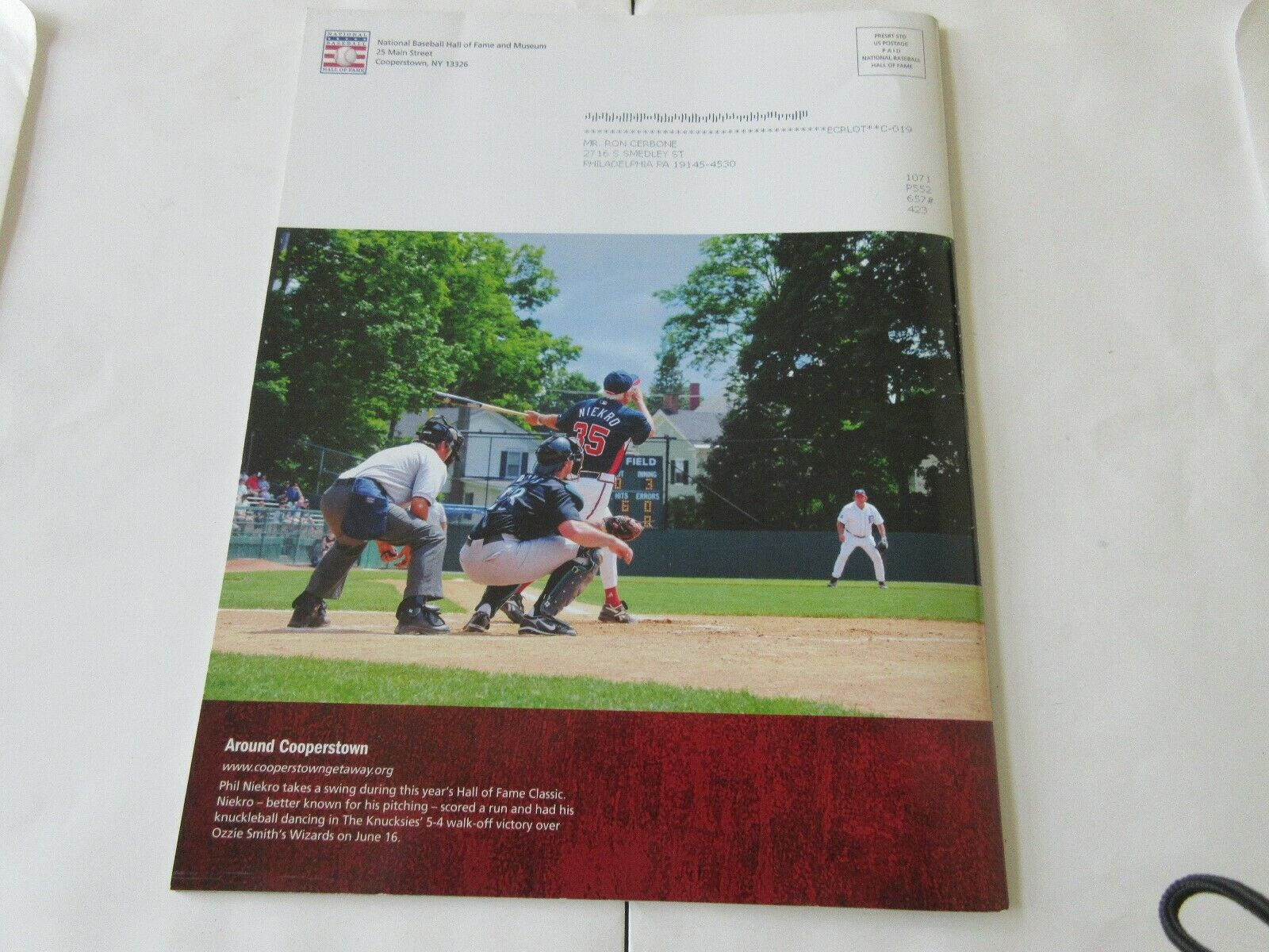 Memories & Dreams , Baseball Hall of Fame , July 21-22,