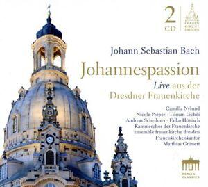 Johannespassion-Kammerchor-Frauenkirche-Dresden-Bach-J-S-2-CD-NEU