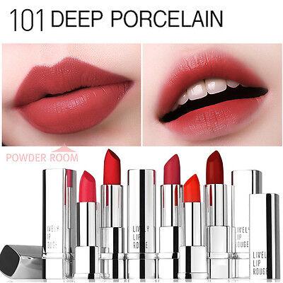 Eglips LIVELY LIP ROUGE #101 DEEP POCELAIN 3.5g Matte Lipstick Long Lasting