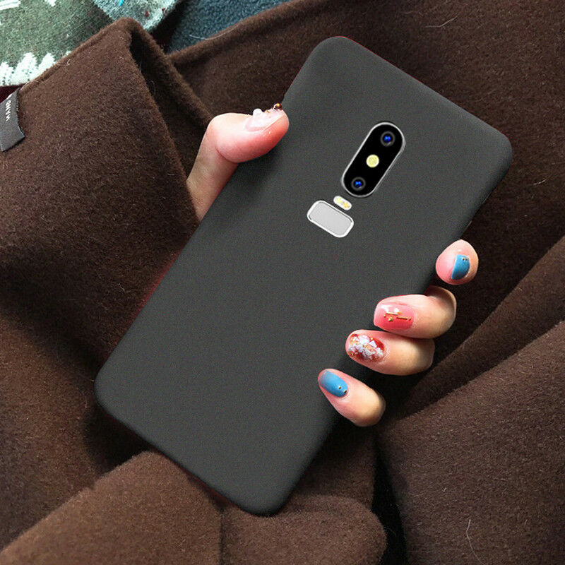 For OnePlus 6 5 5T 3T 3 Luxury Shockproof Slim Matte Soft Rubber TPU Case Cover