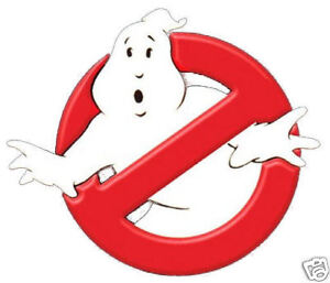 FANCY DRESS, 80'S GHOSTBUSTERS IRON ON TRANSFER SUITABLE FOR T SHIRTS