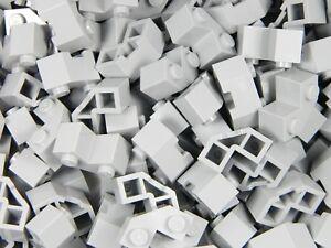 Lego brique 2x2 Pack x25 modifiée facette gris clair Château Mur Panneau Maison  </span>