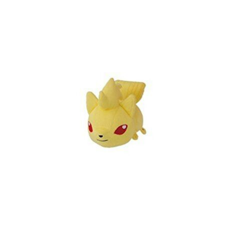 BANPRESTO Pokemon Plush Kororin Friends Ninetales 12cm Fire Type