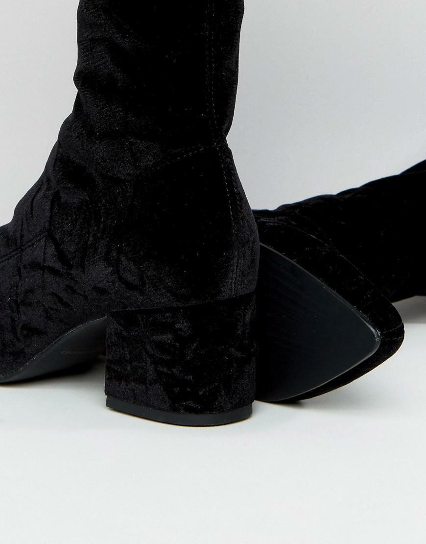 hasta un 65% de descuento Vagabond zapatosmakers Mya TERCIOPELO ESTIRAMIENTO ESTIRAMIENTO ESTIRAMIENTO Bota  venderse como panqueques