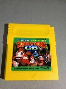 SUPER-DONKEY-KONG-Gameboy-Nintendo-GB-Japan