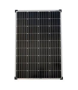Solarmodul 100 Watt Monokristallin Solarpanel  Solarzelle 100 Watt 12V NEU 92053