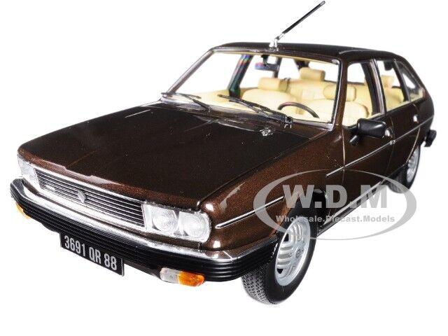 1981 RENAULT 30 TX BRONZE Marronee 1 18 DIECAST auto modello BY NOREV 185271