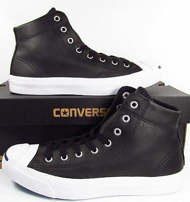 Converse Men/'s Jack Purcell Mid Black Sneakers Shoes 149924C