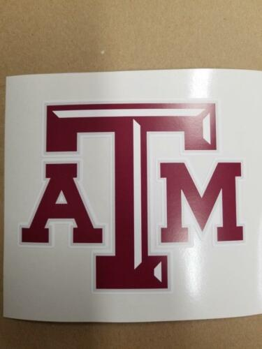 Texas A/&M cornhole board or vehicle decal s TA1