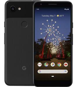 Google Pixel 3a 64GB Just Black Unlocked 5.6 inches display G020G Smartphone