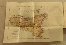 XXI Sec.Originale Mappa Geo-Topografica=Plant of SICILY - SICILIA= ITALIA ETNA