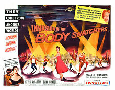 Framed Retro Movie Poster - Invasion of the Body Snatchers 1956 (Replica Print)