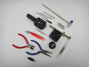 Seiko-Rolex-Omega-Tudor-Watch-Opener-Tool-Kit-18pc-Repair-Pin-Remover-FREE-SHIP