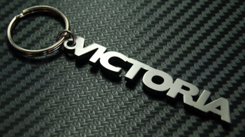 Victoria Personalisierter Name Schlüsselanhänger Schlüsselbund nach Maß