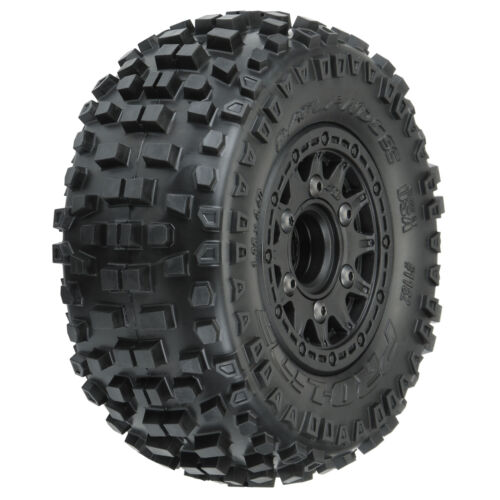 2 Slash 2 Wheel Drive 4 Wheel Details about  /Pro-Line Racing Badlands SC MTD Raid Tires 6x30
