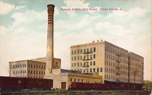 Postcard-Pawnee-Cereal-Company-039-s-Plant-in-Cedar-Rapids-Iowa-110007