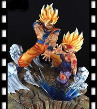 Dragonball KAI Father-Son Goku Gohan Kamehameha Resin Statue Diorama Ver. 1 DJCA
