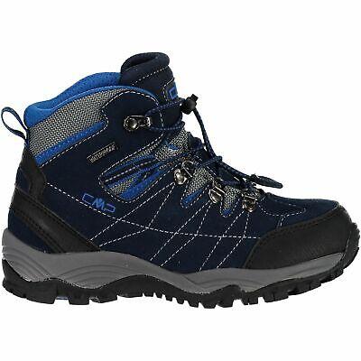 Discreto Cmp Trekking Scarpe Outdoorschuh Kids Arietis Trekking Shoes Wp Blu Scuro-mostra Il Titolo Originale Gradevole Al Gusto