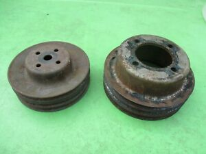 AMC//Jeep Crankshaft Pulley 360 /& 401 V-Belt Crank 304