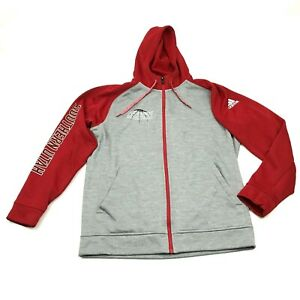 NEW Adidas Climawarm Southern Utah Thunderbird Basketball Hoodie L TEAM ISSUED