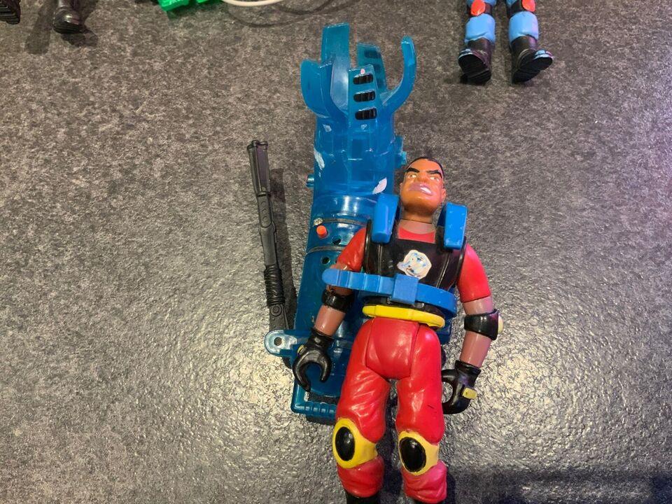Ghostbuster figurer og udstyr, Ghostbuster