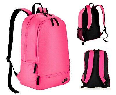 GIRLS NIKE CLASSIC NORTH PINK BACKPACK RUCKSACK SCHOOL COLLEGE GYM SPORTS BAG