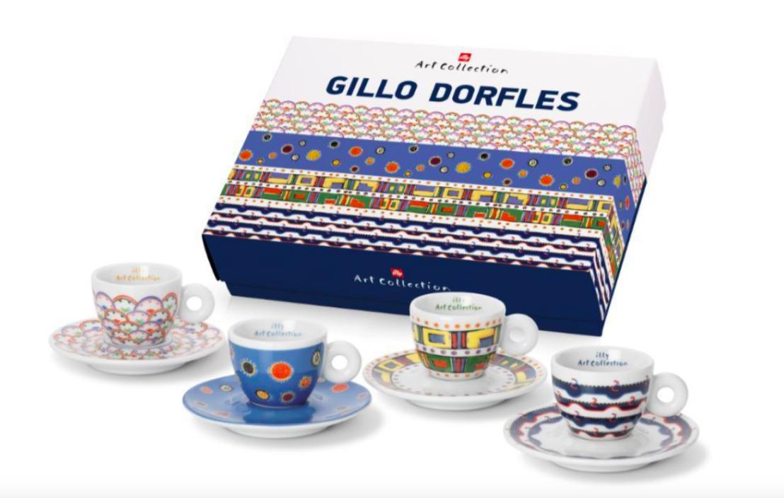 Gillo Dorfles, illy art collection, collection, collection, 4 Espressotassen - sehr schönes Geschenk c53d8a
