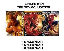 Spider Man Trilogy Complete 1 2 3 (2 Disc Special Editions) NEW SEALED UK R2 DVD