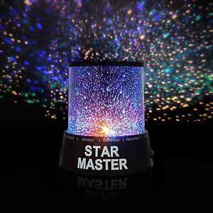 star master led sternenhimmel projektor lampe nachtlicht f r kinder dekoration ebay. Black Bedroom Furniture Sets. Home Design Ideas