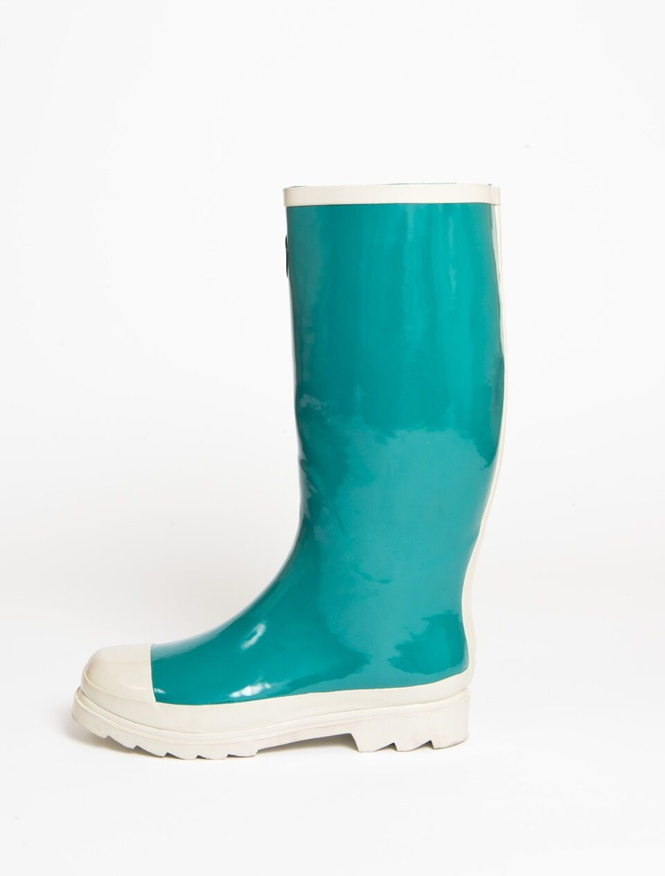 müd Designer Wellington Boots Slim - Teal Green - Slim Boots fit 0559e1