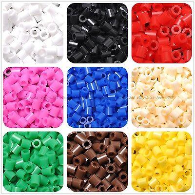 Wholesale 500Pcs Hot Fun HAMA/PERLER BEADS For GREAT Kids Great Fun Color U Pick