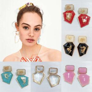 Fashion-Womens-Statement-Ear-Stud-Acrylic-Geometric-Dangle-Drop-Earrings-Jewelry