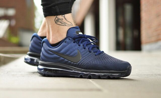 low priced c651d d103d Size 9 Nike Air Max 2017 Binary BlueBlack Mens SIZE 9 Shoes 849559 405