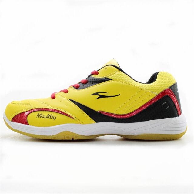 Maultby Men Women TD Training Breathable Light Sport Badminton Shoes
