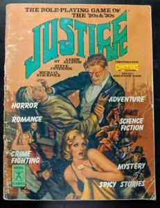 1x-Hero-Games-Justice-Inc-Used-Damaged-RPG-Other