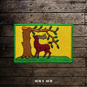BERKSHIRE-Flag-Embroidered-Iron-On-Sew-On-Patch-Badge-For-Clothes-Etc