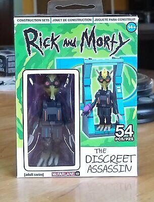 Rick and Morty-Le discret Assassin Mini Construction Set