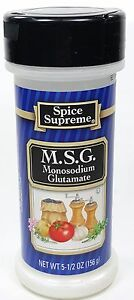Details about Spice Supreme® M S G  new & fresh USA MADE spices cooking  seasoning MSG