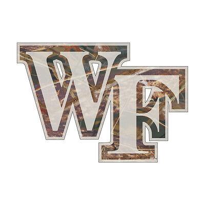 WFU WAKE FOREST UNIVERSITY Large Logo Decal