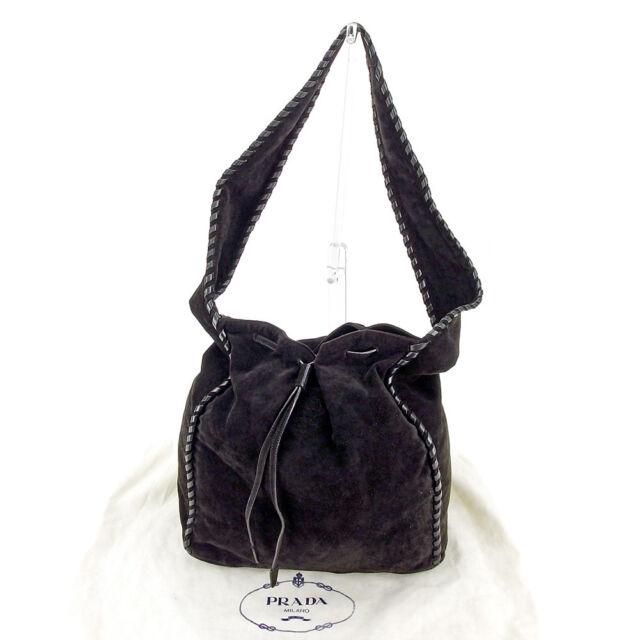 Prada Shoulder bag Black Woman unisex Authentic Used L1953 e278a90a5057