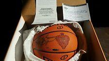 LA Lakers KOBE BRYANT Autographed Laser engraved logo Basketball UDA