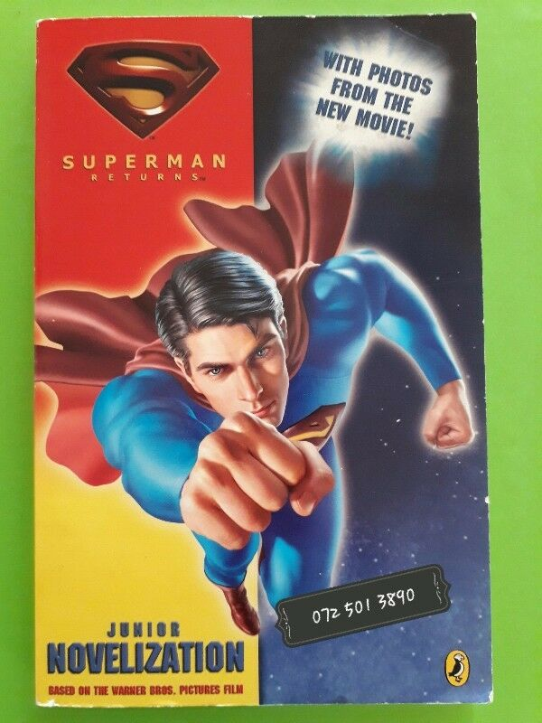 Superman Returns - Louise Simonson - Junior Novelization.