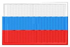 Flagge Russland Flag Russia iron-on Aufnäher patch