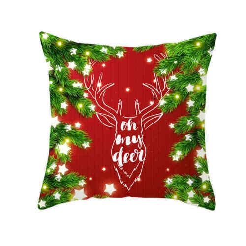 Pillow Cushion Sofa Cover Christmas Red Pillow Decor Cover Pillow Series