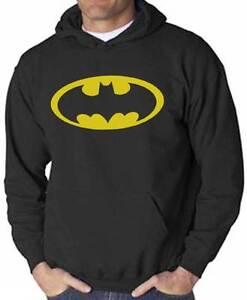 Felpa-Batman-nera-con-cappuccio-logo-giallo-stile-supereroi-dei-fumetti
