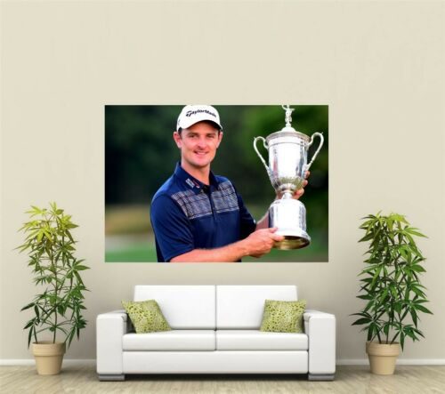Justin Rose Golfer Giant 1 Piece  Wall Art Poster SP188